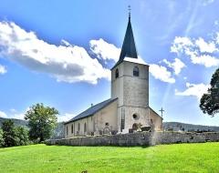 Eglise - Français:   Eglise Saint-Jacques de Chaux-Neuve. Doubs