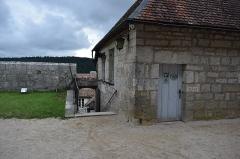 Château de Joux - Français:   Vue du fort de Joux, dans la commune de La Cluse et Mijoux (département du Doubs, en France)