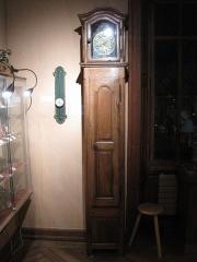 Maison Cuche dite Château Pertusier, actuellement musée de l'Horlogerie du Haut-Doubs - Musée de l'horlogerie de Morteau - Horloge comtoise style Régence Louis XV
