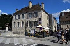 Maison natale de Gustave Courbet - Français:   Vue d\'Ornans, dans le département du Doubs (France).
