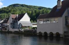Maison natale de Gustave Courbet - Français:   Vue d\'Ornans, dans le département du Doubs en France.