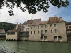 Maison natale de Gustave Courbet - Français:   Vallée de la Loue: Musée Courbet à Ornans