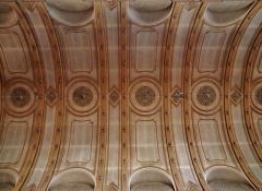 Eglise catholique Saint-Maimboeuf - Deutsch: Gewölbe von St. Maimboeuf, Montbéliard, Département Doubs, Region Franche-Comté (heute Burgund-Franche-Comté), Frankreich