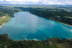 Villages palafittes du lac Chalain (également sur communes de Marigny et Doucier) - English: Lac de Chalain