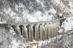 Viaduc -  Viaduc des Crottes blanchi