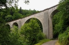Viaduc - English:  Viaduc du Saillard in Morez; Jura, France.