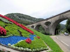 Viaduc -  Gare de Morez. Viaducs de la ligne Ligne Andelot-en-Montagne - La Cluse
