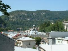 Viaduc -  Centre ville de Morez