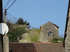 Tour de la Sergenterie - Français:   Ruines / vestiges du château fort de Poligny (IXe siècle)