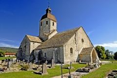 Eglise - Deutsch: Saint-Hymetière, von S-O