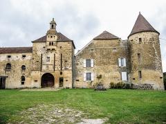 Château - Français:   Château de Bougey