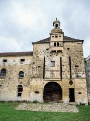 Château - Français:   Entrée du château