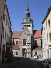 Eglise Notre-Dame - Français:   Gray (Haute-Saône) La basilique Notre-Dame