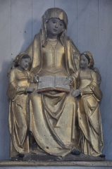 Eglise - Français:   Église Saint-Pierre de Jussey (70). Sainte-Anne avec Marie-Salomé et Marie-Cléophas.