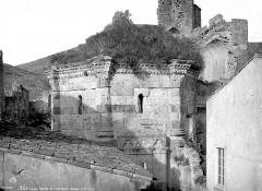 Restes de l'ancienne cathédrale Notre-Dame -