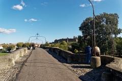 Pont-Vieux - English: Carcassonne - Rue du Pont Vieux - View ESE on the Old Bridge & The Citadel