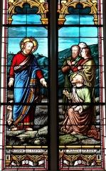 Eglise Saint-Michel - Français:   Espéraza - Église Saint-Michel - Jésus donne les clés de l\'Église à saint Pierre