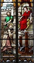 Eglise Saint-Michel - Français:   Espéraza - Église Saint-Michel - Martyre de sainte Catherine