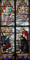 Eglise Saint-Michel - Français:   Espéraza - Église Saint-Michel - Mort au champ d\'honneur. Courage, Dieu le garde