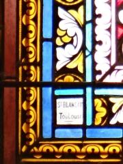 Eglise Saint-Michel - Français:   Espéraza - Église Saint-Michel - Signature Saint-Blancat (Toulouse)