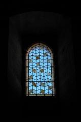 Ancienne abbaye Saint-Hilaire - Deutsch: Ehemalige Abtei Saint-Hilaire in Saint-Hilaire im Département Aude (Region Languedoc-Roussillon/Frankreich), Fenster im Refektorium