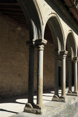 Ancienne abbaye Saint-Hilaire - Deutsch: Ehemalige Abtei Saint-Hilaire in Saint-Hilaire im Département Aude (Region Languedoc-Roussillon/Frankreich), Kreuzgang