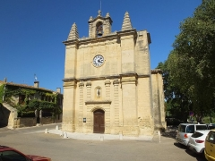 Eglise Saint-Martin -  Aujargues.