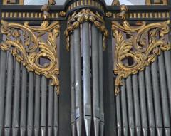 Eglise Saint-Paul, ancienne église des Cordeliers - Français:   claires-voies centrales