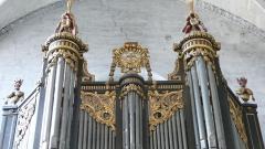 Eglise Saint-Paul, ancienne église des Cordeliers - Français:   partie supérieure de la Montre