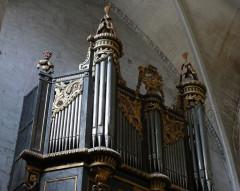 Eglise Saint-Paul, ancienne église des Cordeliers - Français:   pan gauche