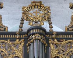 Eglise Saint-Paul, ancienne église des Cordeliers - Français:   couronnement tourelle centrale