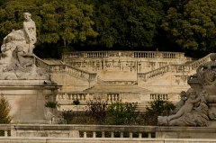 Jardin de la Fontaine - This building is classé au titre des Monuments Historiques. It is indexed in the Base Mérimée, a database of architectural heritage maintained by the French Ministry of Culture, under the reference PA00103124 .