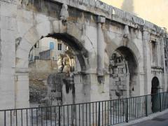 Porte d'Arles dite d'Auguste - English: Porta Augusta, Nîmes, France