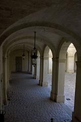 Hôtel de ville - English:   Gallery on the ground floor.