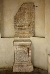 Hôtel de ville - English:   Gallo-Roman steles.