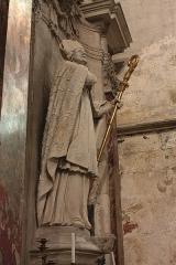 Ancienne abbaye Saint-Aphrodise - Français:   Intérieur de la Basilique Saint-Aphrodise de Béziers: Saint Guiraud