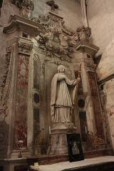 Ancienne abbaye Saint-Aphrodise - Français:   Intérieur de la Basilique Saint-Aphrodise de Béziers: Saint Guiraud.
