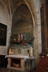 Chapelle des Pénitents Bleus - Français:   Bateau de Saintes Maries de la Mer (Chapelle des Pénitents bleus).