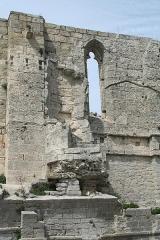 Ancienne abbaye Saint-Félix-de-Montceau - Français:   Gigean ( Hérault - France) - Abbaye Saint-Félix-de-Montceau - escalier en colimaçon