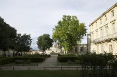 Fontaine des Licornes -  Montpellier, France