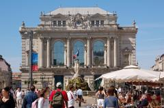 Fontaine des Trois Grâces - Deutsch: Opernhaus, Montpellier, Languedoc-Roussillon, Frankreich