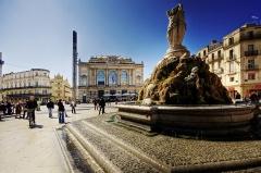Fontaine des Trois Grâces -  Montpellier Place de la Comédie