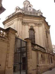 Hôtel de Saint-Côme - Català: Vista lateral de l'Hôtel de Saint-Côme (Montpeller)