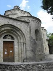 Eglise Saint-Martin - de l'église Saint-Martin de Saint-Martin-de-Londres (34).