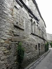 Hôtel des Monnaies - Français:   Maison des Monnaies à Villemagne-l\'Argentière (34) (avant restauration).