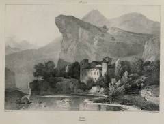 Château de la Caze - French-German lithographer