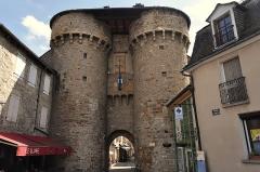Porte de Soubeyran - English: Marvejols, Capitale Royale dy Gévaudan