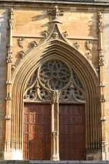 Cathédrale Notre-Dame et Saint-Privat - Deutsch: Kathedrale von Mende, Portal