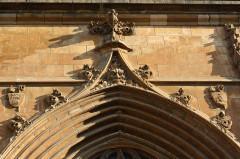 Cathédrale Notre-Dame et Saint-Privat - Deutsch: Kathedrale von Mende, Detail des Portals