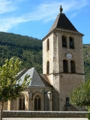 Eglise Notre-Dame -  Eglise de la commune de Quézac en Lozère